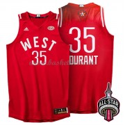 West All Star Game 2016 Kevin Durant 35# NBA Swingman Basketball Trøjer..