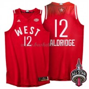 West All Star Game 2016 Lamarcus Aldridge 12# NBA Swingman Basketball Trøjer..