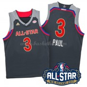 West All Star Game 2017 Chris Paul 3# NBA Swingman Basketball Trøjer..