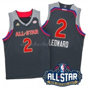 West All Star Game 2017 Kawhi Leonard 2# NBA Swingman Basketball Trøjer..