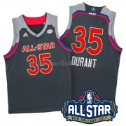 West All Star Game 2017 Kevin Durant 35# NBA Swingman Basketball Trøjer..