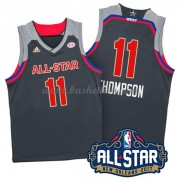 West All Star Game 2017 Klay Thompson 11# NBA Swingman Basketball Trøjer..