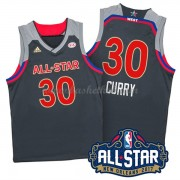 West All Star Game 2017 Stephen Curry 30# NBA Swingman Basketball Trøjer..