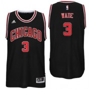 Chicago Bulls Basketball Trøjer 2017-18 Dwyane Wade 3# Alternate..