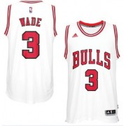 Chicago Bulls Basketball Trøjer 2017-18 Dwyane Wade 3# Home