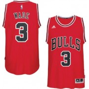Chicago Bulls Basketball Trøjer 2017-18 Dwyane Wade 3# Road
