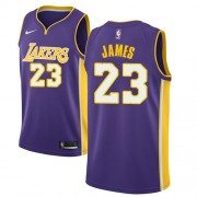 NBA Basketball Trøje Børn Los Angeles Lakers 2018 LeBron James 23# Statement Edition