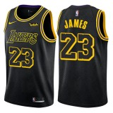 Los Angeles Lakers Basketball Trøjer 2018 LeBron James 23# City Edition