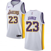 NBA Basketball Trøje Børn Los Angeles Lakers 2018 LeBron James 23# Association Edition