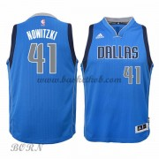 NBA Basketball Trøje Børn Dallas Mavericks 2015-16 Dirk Nowitzki 41# Road..