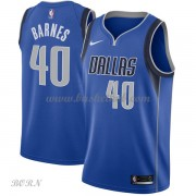 NBA Basketball Trøje Børn Dallas Mavericks 2018 Harrison Barnes 40# Icon Edition..