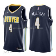 NBA Basketball Trøje Børn Denver Nuggets 2018 Paul Millsap 4# Icon Edition..