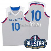 East All Star Game 2017 Demar Derozan 10# NBA Swingman Basketball Trøjer..