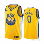 Billige Basketball Trøje Børn Golden State Warriors 2019-20 D'Angelo Russell 0# Statement Edition Sw..