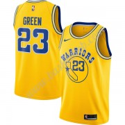Golden State Warriors Basketball Trøjer NBA 2019-20 Draymond Green 23# Guld Hardwood Classics Swingm..