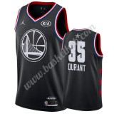 Golden State Warriors 2019 Kevin Durant 35# Sort All Star Game Swingman Basketball Trøjer