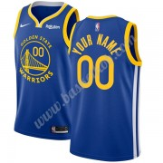 Golden State Warriors Basketball Trøjer NBA 2019-20 Blå Icon Edition Swingman..