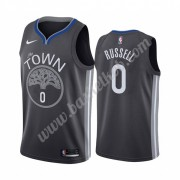 Golden State Warriors Basketball Trøjer NBA 2019-20 D'Angelo Russell 0# City Edition Swingman..