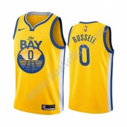 Golden State Warriors Basketball Trøjer NBA 2019-20 D'Angelo Russell 0# Statement Edition Swingman..