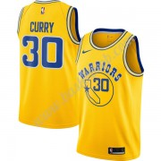 Golden State Warriors Basketball Trøjer NBA 2019-20 Stephen Curry 30# Guld Hardwood Classics Swingma..