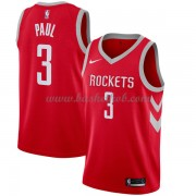 Houston Rockets Basketball Trøjer 2018 Chris Paul 3# Icon Edition..