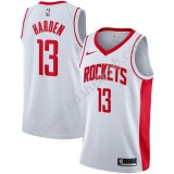 Houston Rockets Basketball Trøjer NBA 2019-20 James Harden 13# Hvid Association Edition Swingman