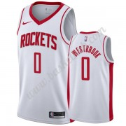 Houston Rockets Basketball Trøjer NBA 2019-20 Russell Westbrook 0# Hvid Association Edition Swingman..