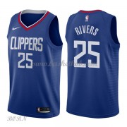NBA Basketball Trøje Børn Los Angeles Clippers 2018 Austin Rivers 25# Icon Edition..