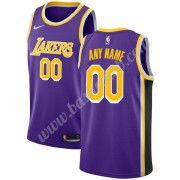 Los Angeles Lakers Basketball Trøjer NBA 2019-20 Lilla Statement Edition Swingman..