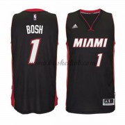 Miami Heat Basketball Trøjer 2015-16 Chris Bosh 1# Road..
