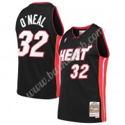 Miami Heat Basketball Trøjer NBA 2005-06 Shaquille O'Neal 32# Sort Hardwood Classics Swingman..