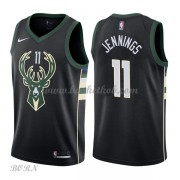 NBA Basketball Trøje Børn Milwaukee Bucks 2018 Brandon Jennings 11# Statement Edition..