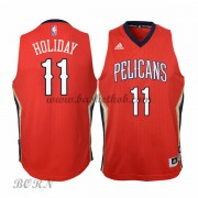 NBA Basketball Trøje Børn New Orleans Pelicans 2015-16 Jrue Holiday 11# Alternate..