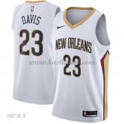 NBA Basketball Trøje Børn New Orleans Pelicans 2018 Anthony Davis 23# Association Edition..