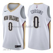 NBA Basketball Trøje Børn New Orleans Pelicans 2018 DeMarcus Cousins 0# Association Edition..