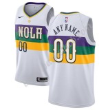 New Orleans Pelicans Basketball Trøjer NBA 2019-20 Hvid City Edition Swingman