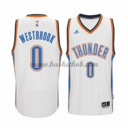 Oklahoma City Thunder Basketball Trøjer 2015-16 Russell Westbrook 0# Home..