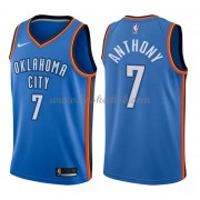 Oklahoma City Thunder Basketball Trøjer 2018 Carmelo Anthony 7# Icon Edition..