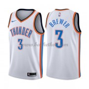 Oklahoma City Thunder Basketball Trøjer 2018 Corey Brewer 3# Association Edition..