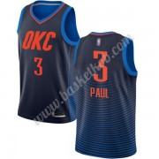 Oklahoma City Thunder Basketball Trøjer NBA 2019-20 Chris Paul 3# Blå Statement Edition Swingman..