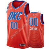 Oklahoma City Thunder Basketball Trøjer NBA 2019-20 Orange Statement Edition Swingman