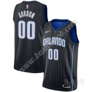 Billige Basketball Trøje Børn Orlando Magic 2019-20 Aaron Gordon 00# Sort Statement Edition Swingman..