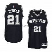 San Antonio Spurs Basketball Trøjer 2015-16 Tim Duncan 21# Road..