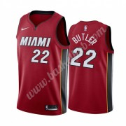 Miami Heat Basketball Trøjer NBA 2019-20 Jimmy Butler 22# Rød Statement Edition Swingman..