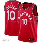NBA Basketball Trøje Børn Toronto Raptors 2018 DeMar DeRozan 10# Icon Edition..
