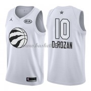 Toronto Raptors DeMar DeRozan 10# Hvid 2018 All Star Game Swingman Basketball Trøjer..
